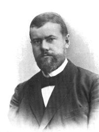 1900-1950 Capitalisme social dans histoire 200pxmaxweber1894