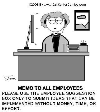 Des initiatives... mais pas trop dans budget memo